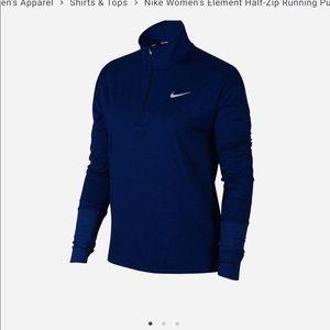 Nike Women's Half- Zip Running Shirts